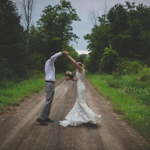 Backyard Wedding Hastings Ontario
