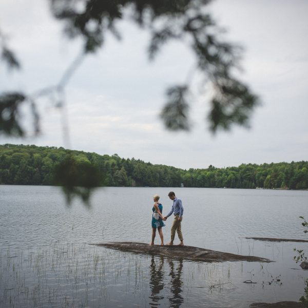 Haliburton Cottage Engagement