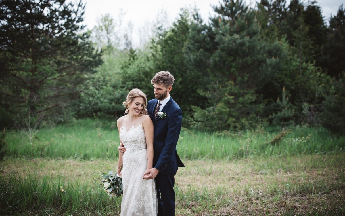 Beautiful Backyard Wedding in Omemee, Ontario
