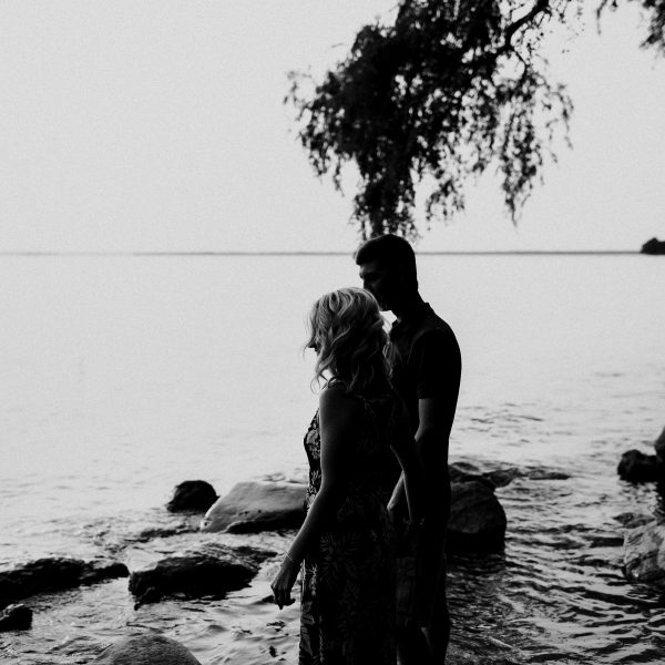 Lake Simcoe Engagement Session